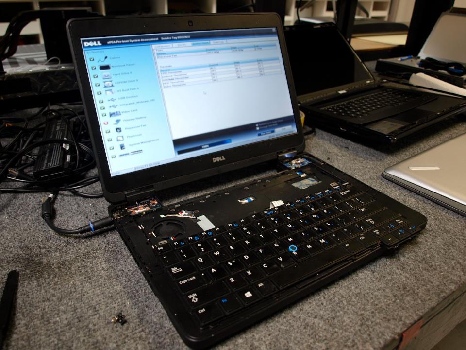 Laptop Repair Keyboard