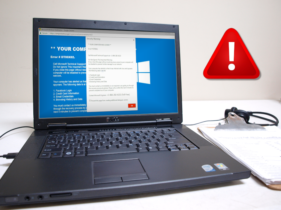 Virus Removal Infected PC